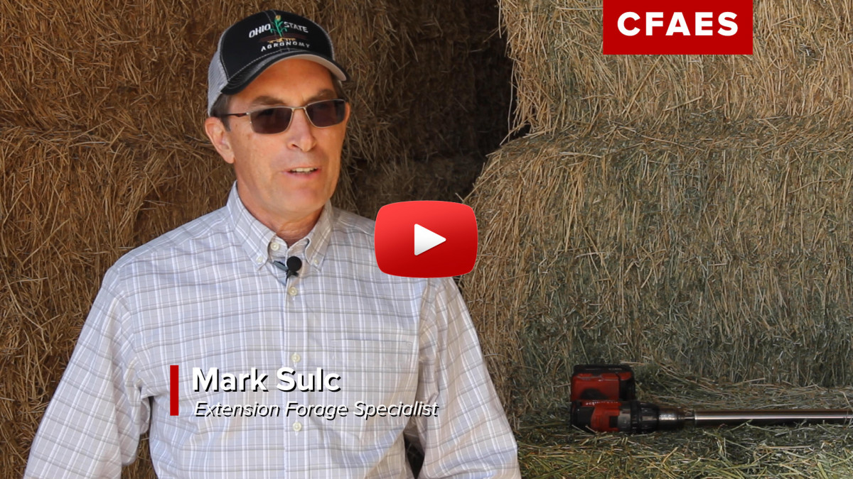 Video of Mark Sulc, OSU Extension forage specialist