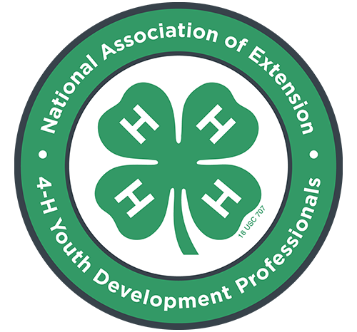 National Association of Extension 4-H Youth Development Professionals Logo Image