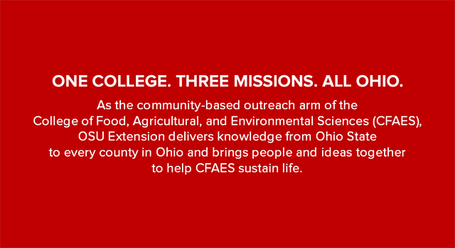 One College. Three Missions. All Ohio.