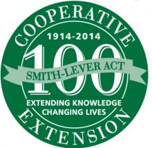 Extension 100th Anniversary Logo
